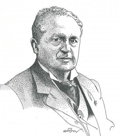 Theologian Abraham Kuyper, 1837-1920