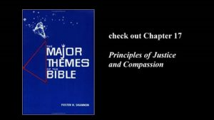 Dr. Fosters Shannon's book, The Major Themes of the Bible